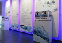 Пульты управления системой увлажнения в демозале Buhler-AHS