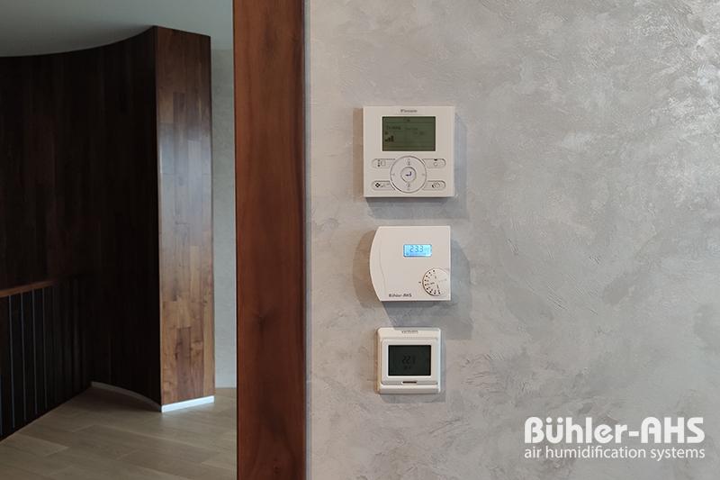 Пульт управления влажностью воздуха Buhler-AHS